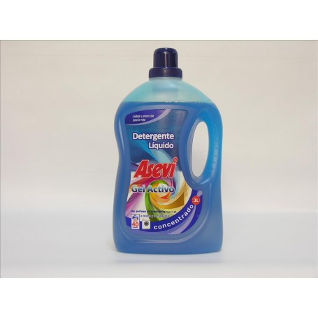 Detergente Liquido 3 L. Gel Activo  Rfª. 23660