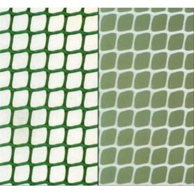MALLA Plastico Verde Agujero Gra.11x11 Rfª. 313006