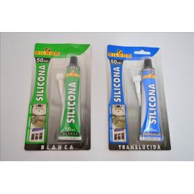 Silicona Silbor Translucida Blister  Rfª. 833745