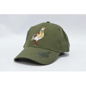 Gorra Verde Perdiz Rfª. 3668 T/59