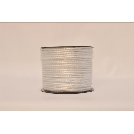 Cuerda Revestida  5 mm. Blanca  Rfª. C0000187